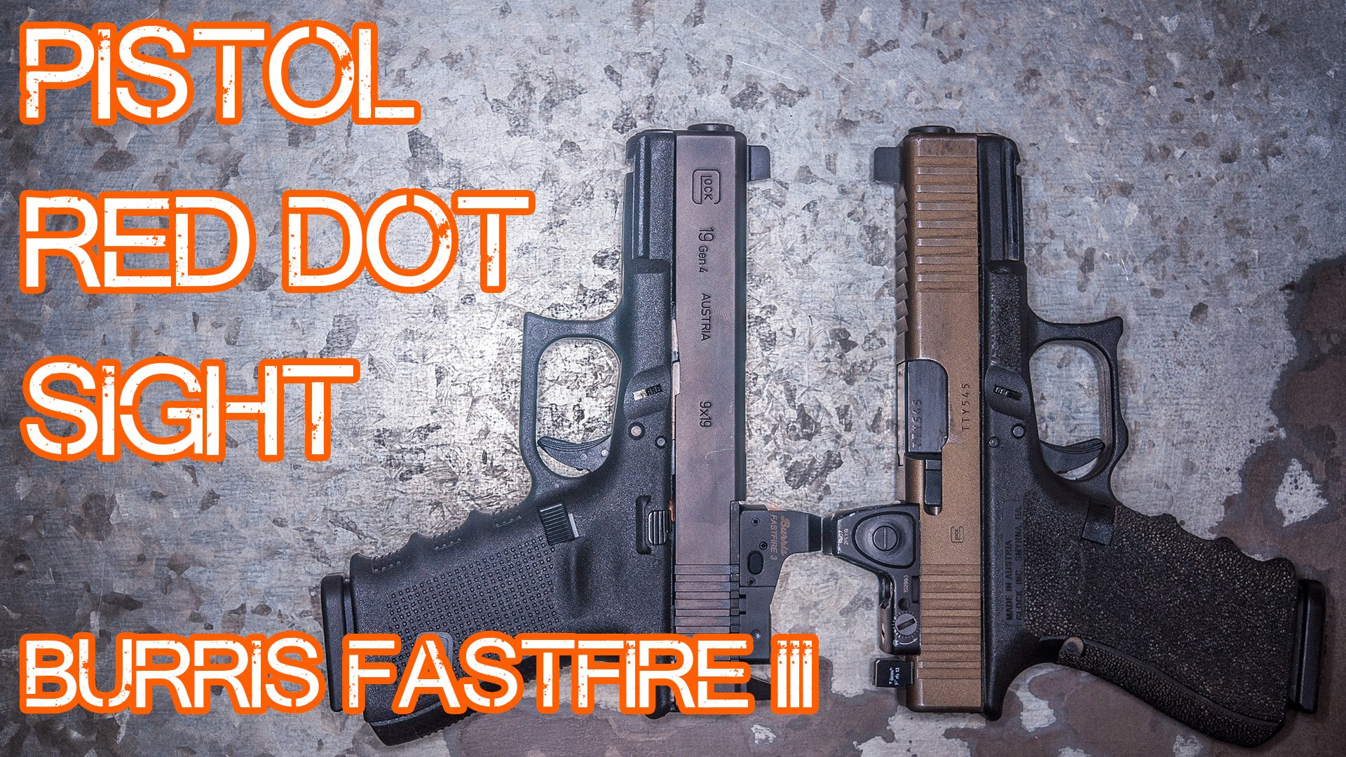Pistol Red Dot Sight Thoughts -  Burris FastFire III Review vs Trijicon RMR
