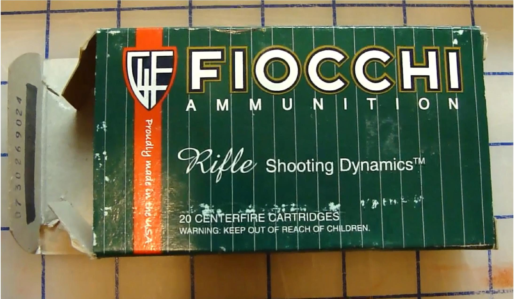 Fiocchi .223 Rem Soft Point 55 gr Ballistic Gel Test