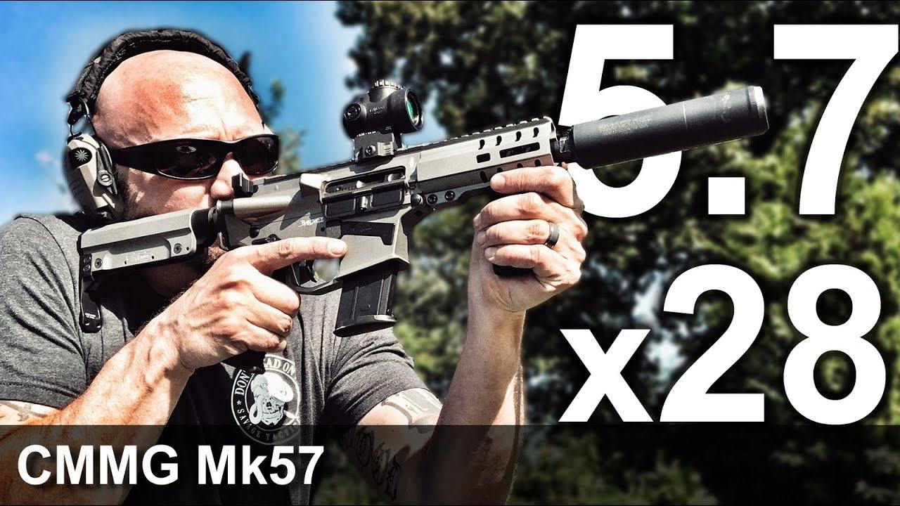 CMMG Mk57 SBR (Suppressed)