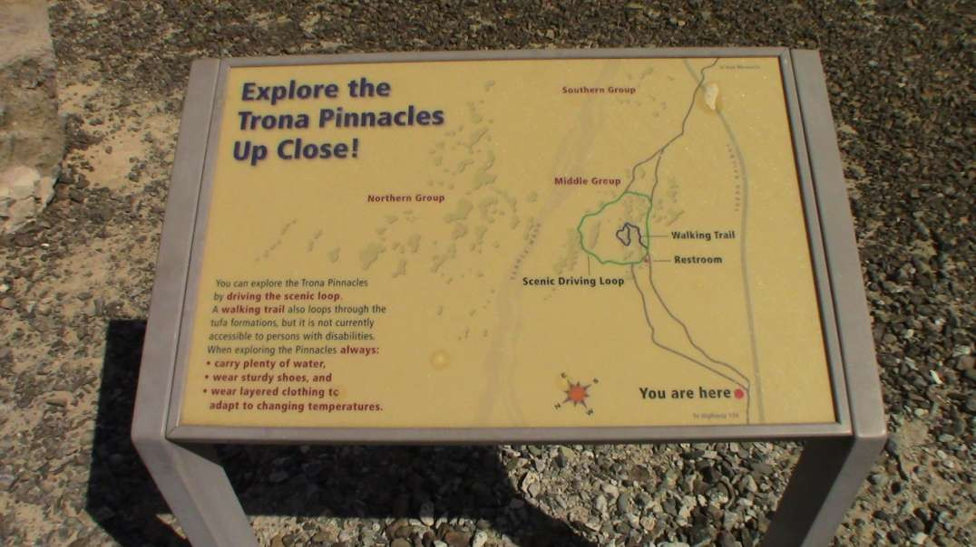A Quick Visit to Trona, CA and the Trona Pinnacles