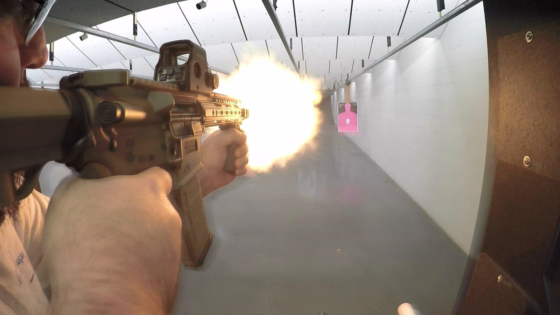 AR15 SBR Fireballs