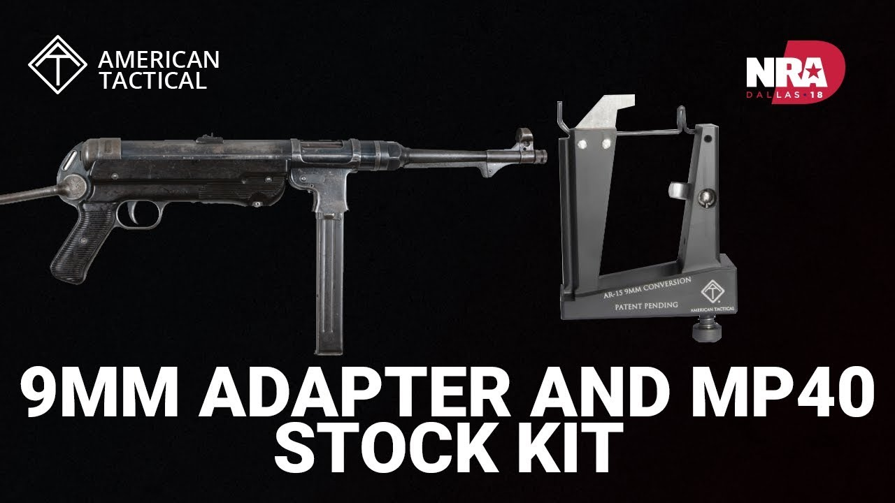 9mm Adapter and MP40 Stock Kit - American Tactical