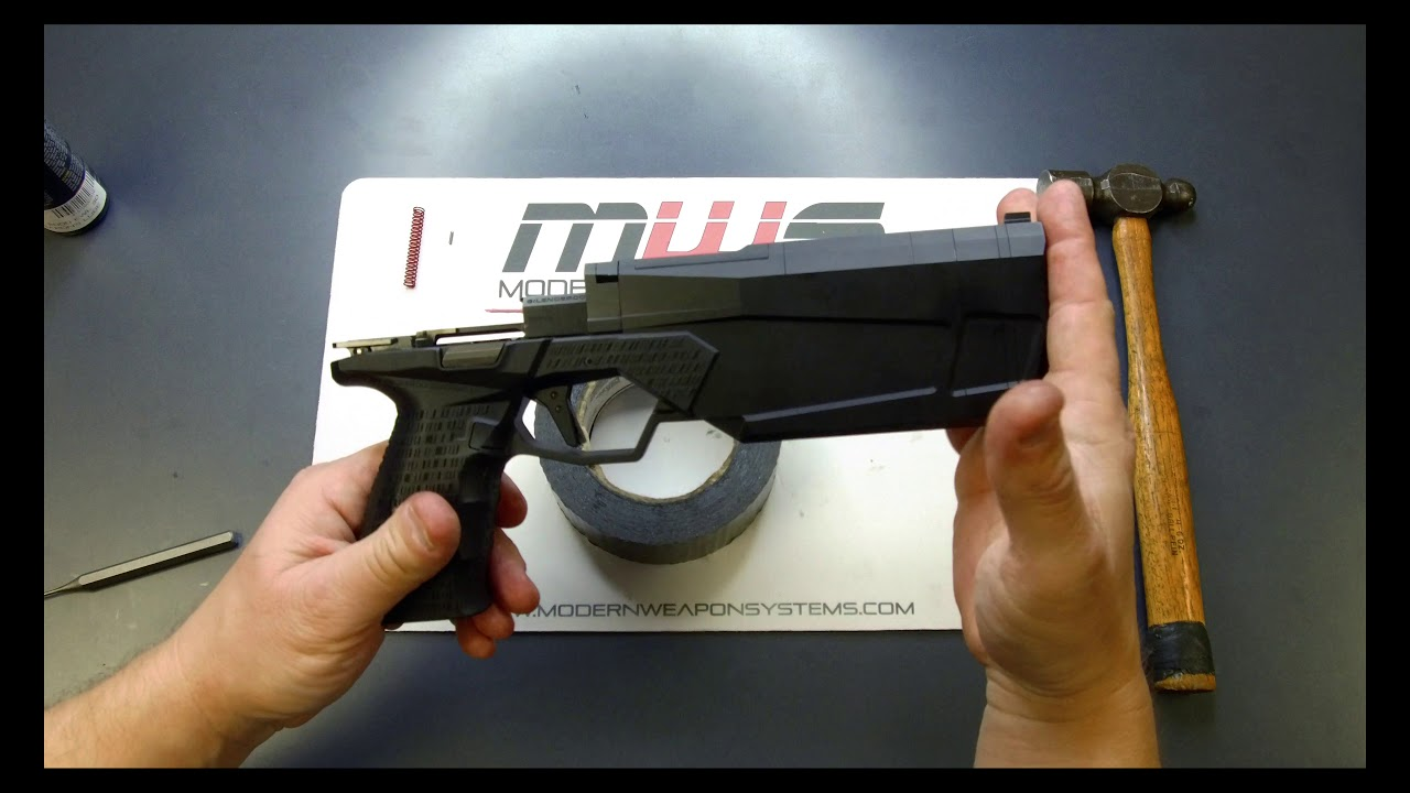 MODERN WEAPON SYSTEMS | MWS MAXIM 9 TRIGGER KIT INSTALL VIDEO