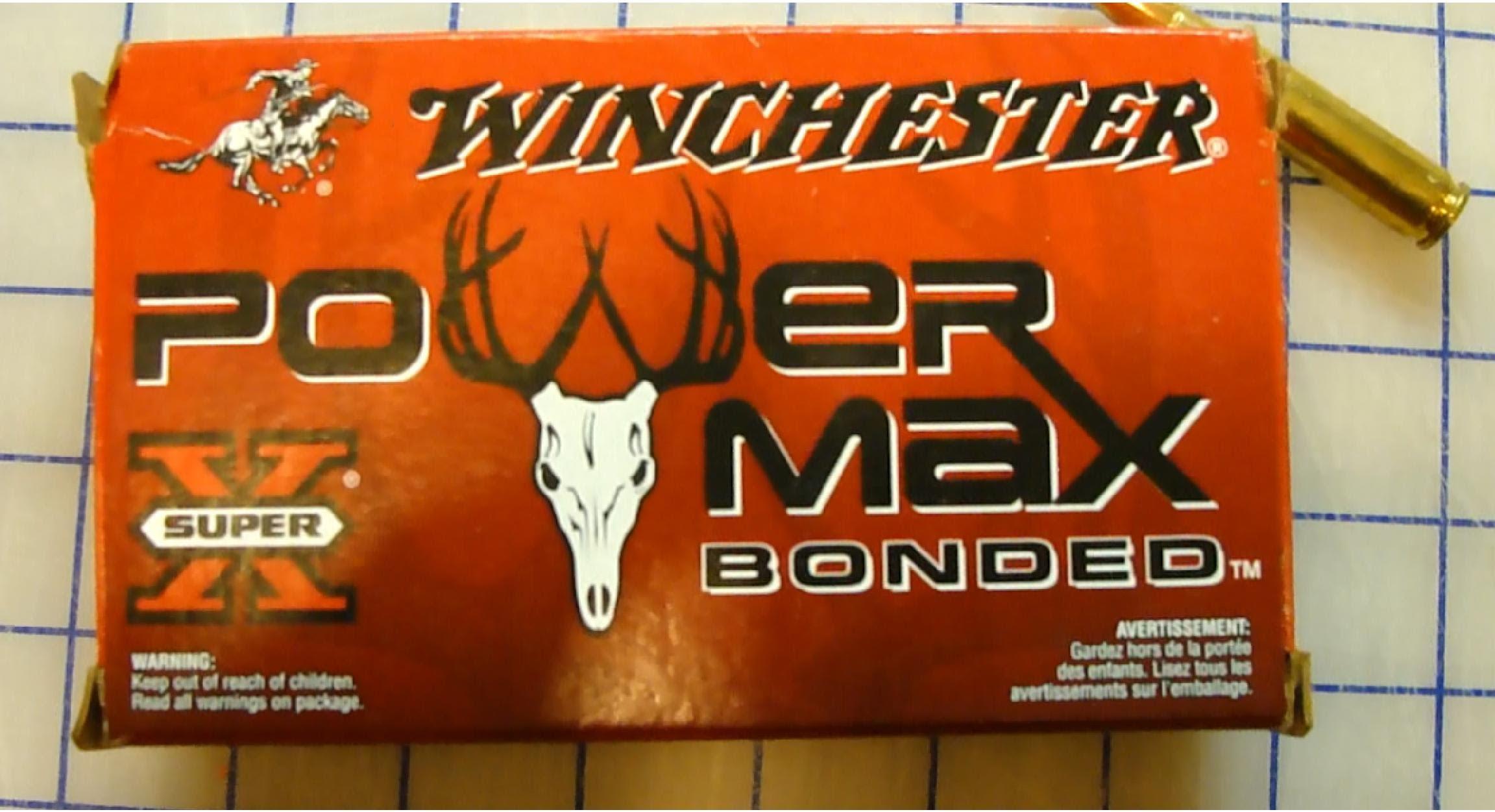 .308 Win Winchester Power Max 150 gr Clear Ballistic Gel Test