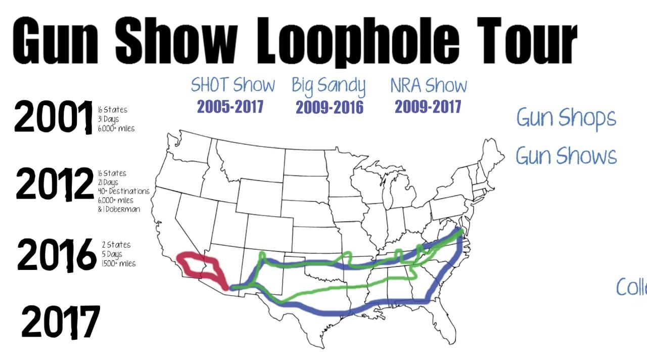 Gunshow Loophole Tour History