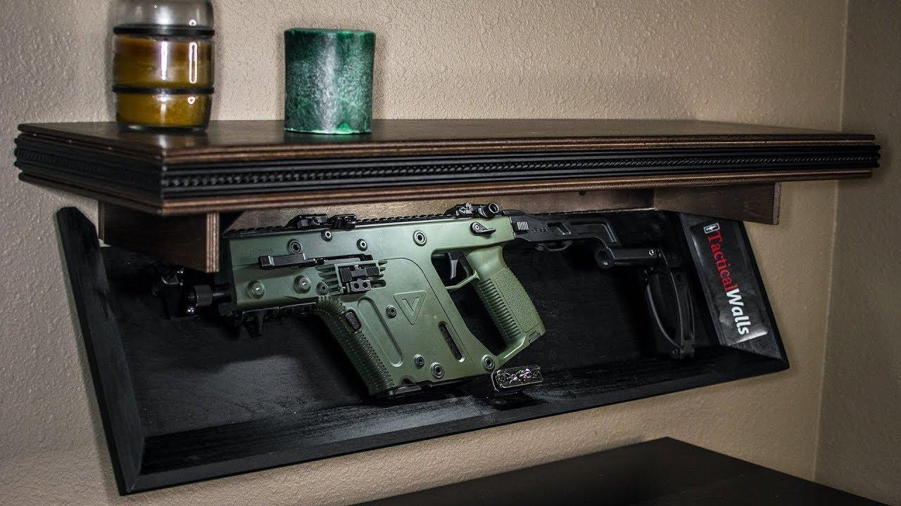 SUPER SECRET GUNS! Hidden in plain sight, with Tactical Walls