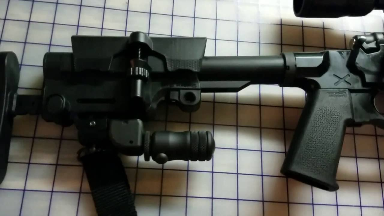 Remington 700 SPS Tactical AAC-SD in American Built Arms Mod X Gen III Chassis