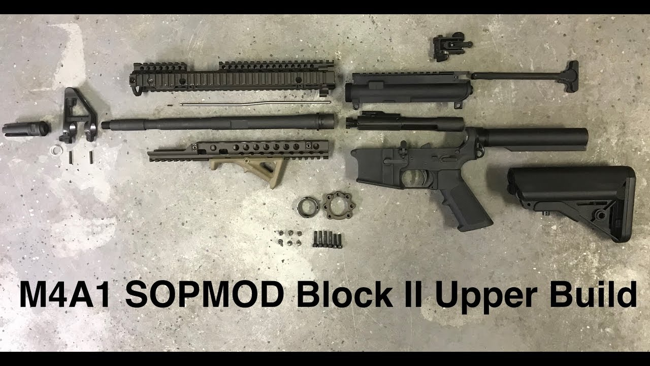M4A1 SOPMOD Block II Upper Build