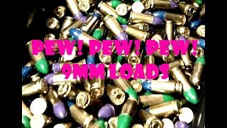 Pew! Pew! Pew! 133gr 9mm Cast Bullet Loads