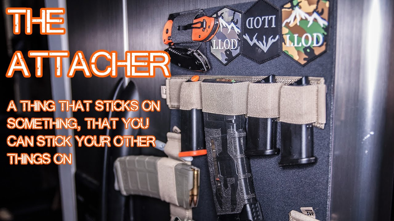 The Attacher by Boxer Tactical - Gun Safe Exterior Storage