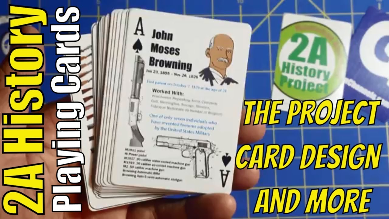 2A History Playing Cards - The Project, Card Design and More
