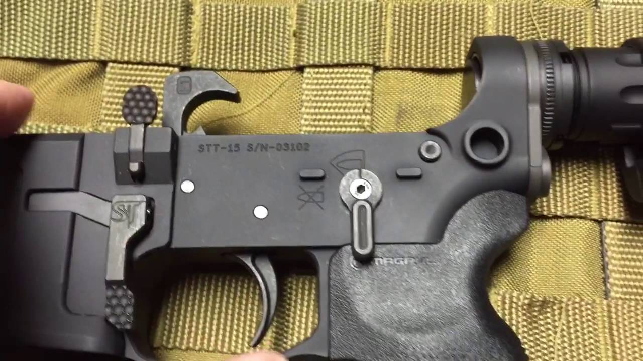 SanTan Tactical AR lower receiver