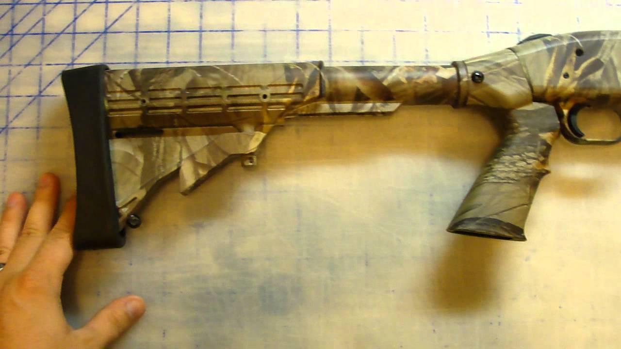 A Look at a Mossberg 535 Tactical Turkey 12 gauge Shotgun Realtree Hardwoods HD