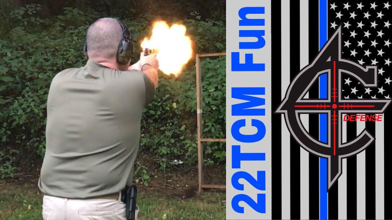 22 TCM Shooting Sport