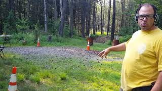 Running and gunning the Cones Drill