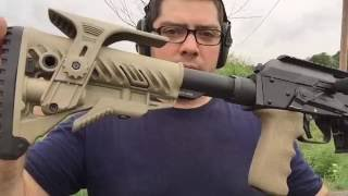 Vepr 12 All Day Ep. 11: How to Install the CSS Fixed Tubular Stock Adapter and M4 Stock!!