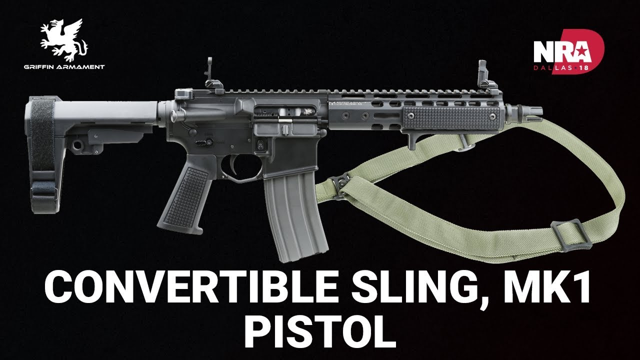Convertible Sling and MK1 Pistol - Griffin Armament
