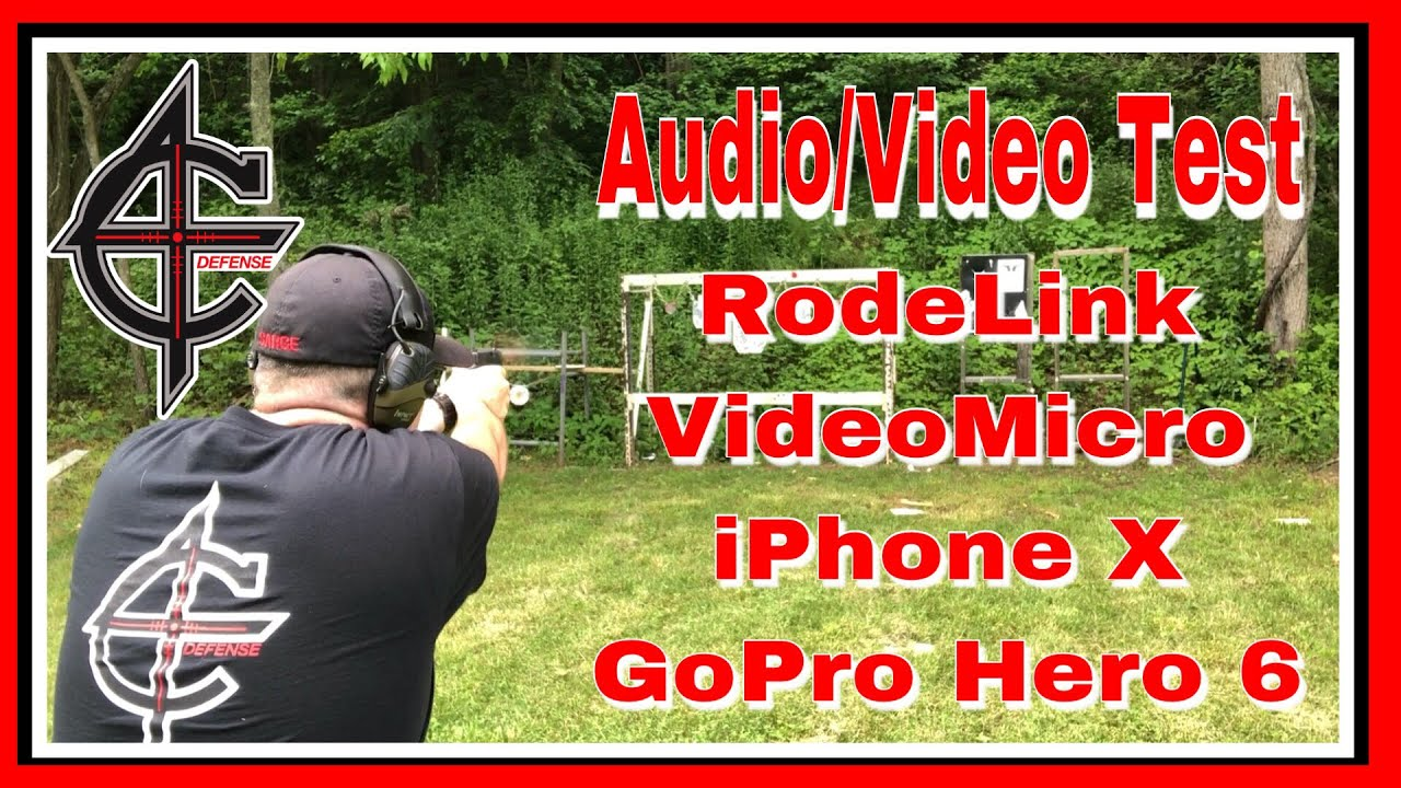 Audio Test RodeLink | iPhone X vs GoPro Hero 6