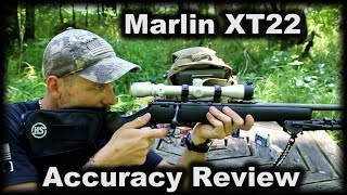 Marlin XT22 Accuracy Review Budget Bolt gun