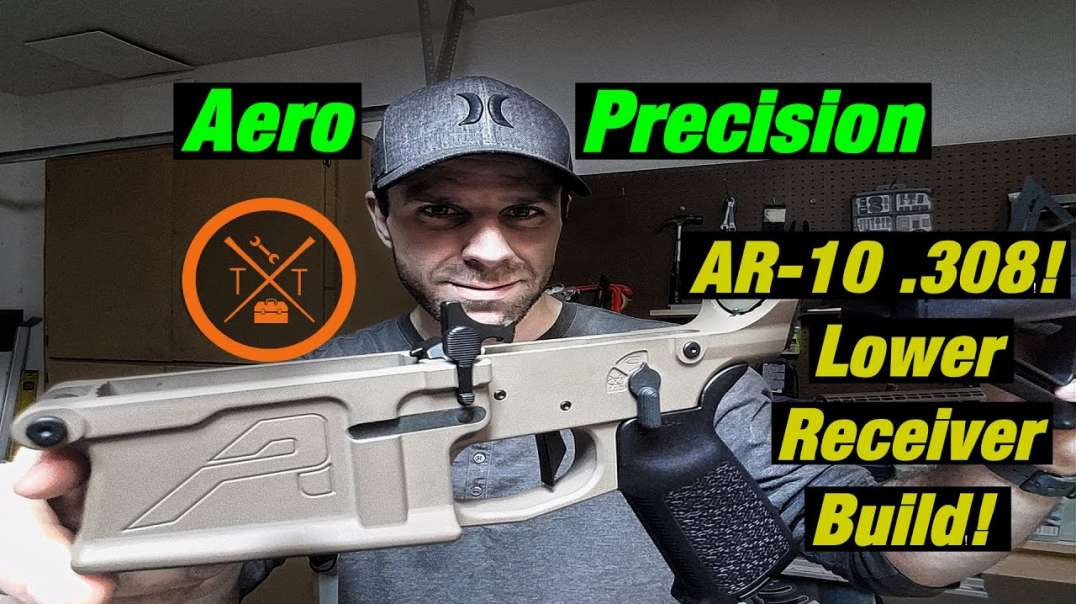 Battle Rifile! AR-10 .308 Build: M5E1 Lower Receiver Assembly