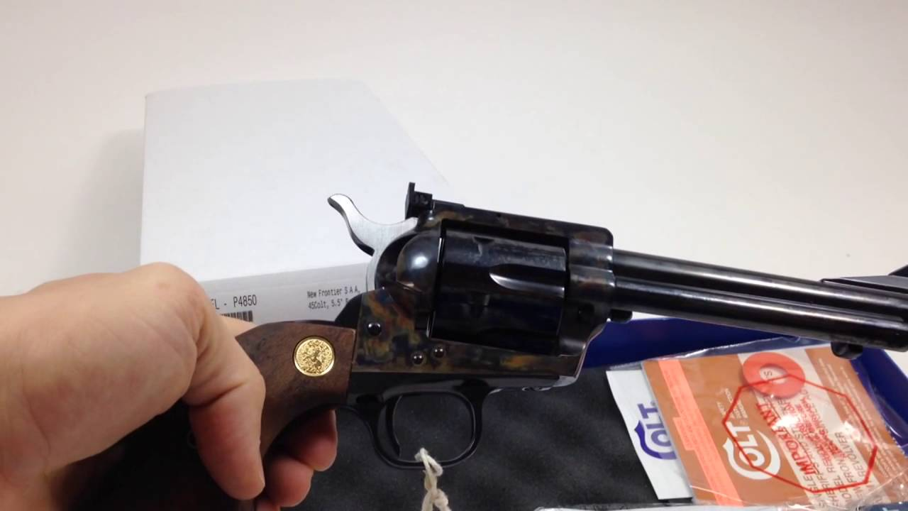 Colt New Frontier SAA 45 LC #UNBOXING