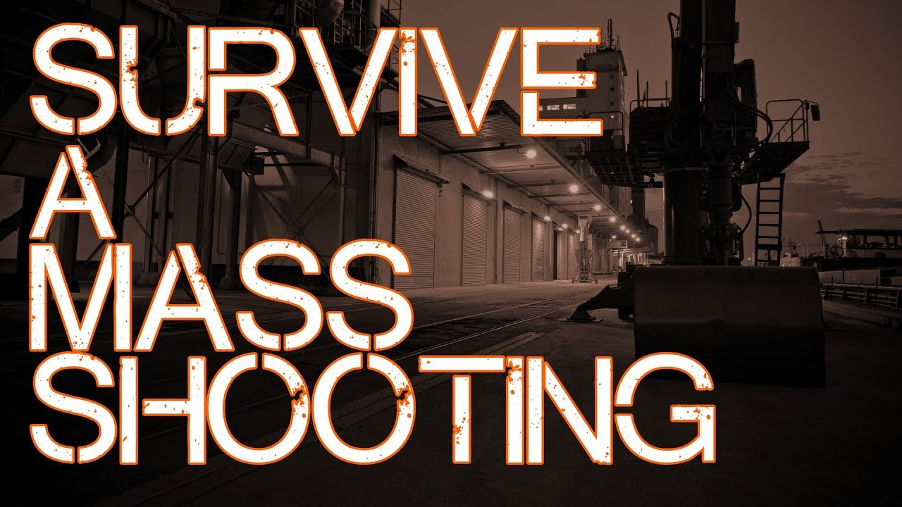 3 Tips to SURVIVE a MASS SHOOTING (Active Shooter Survival)