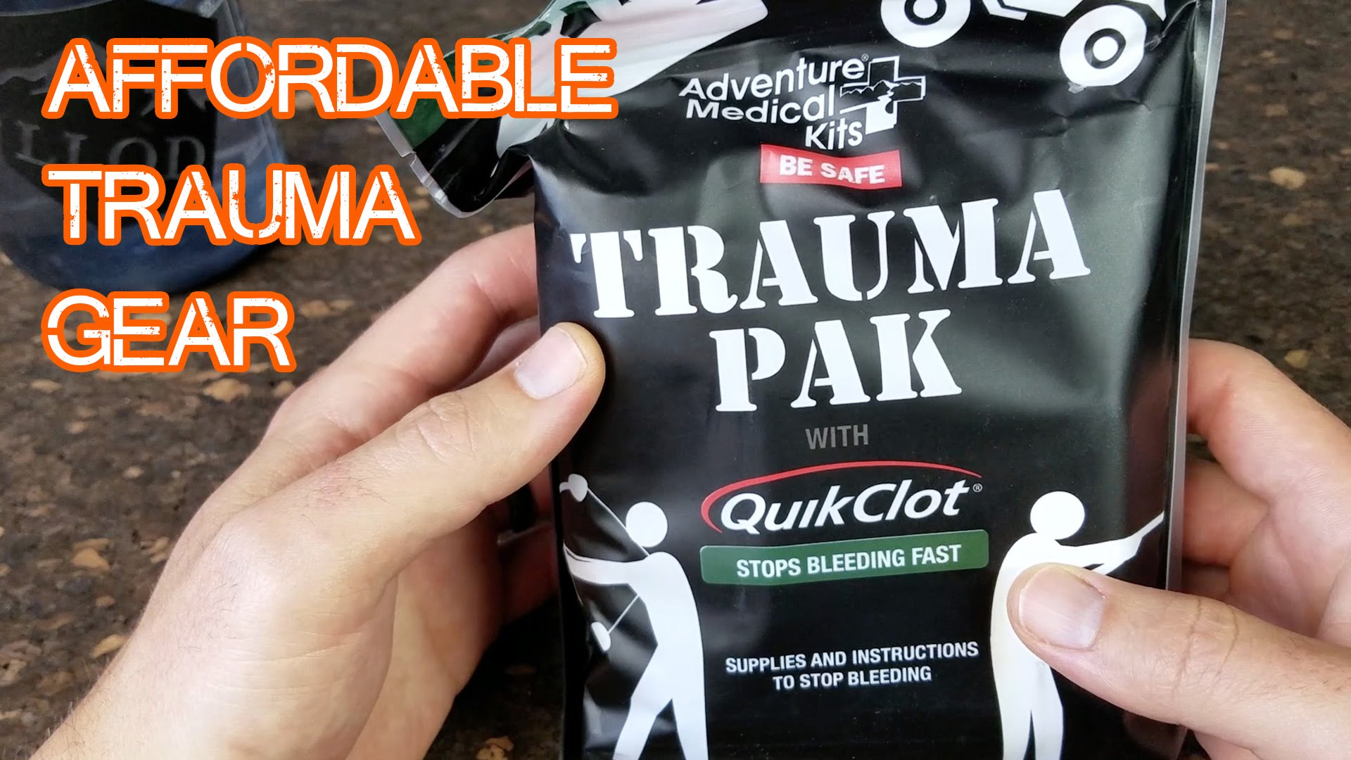 Cheap Trauma Kit - affordable medical gear you should own (QUICK VID)