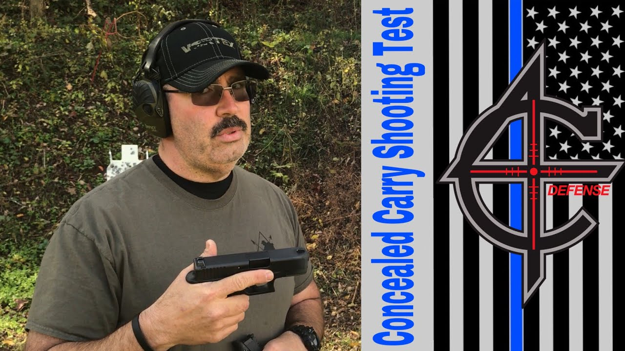 Concealed Carry Class Shooting