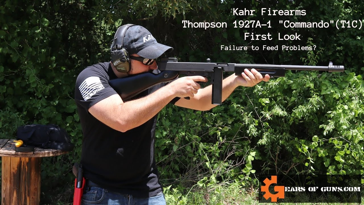 Kahr Group T1C - FTF Problems?