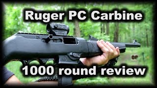 Ruger PC Carbine 1000 rounds later problems