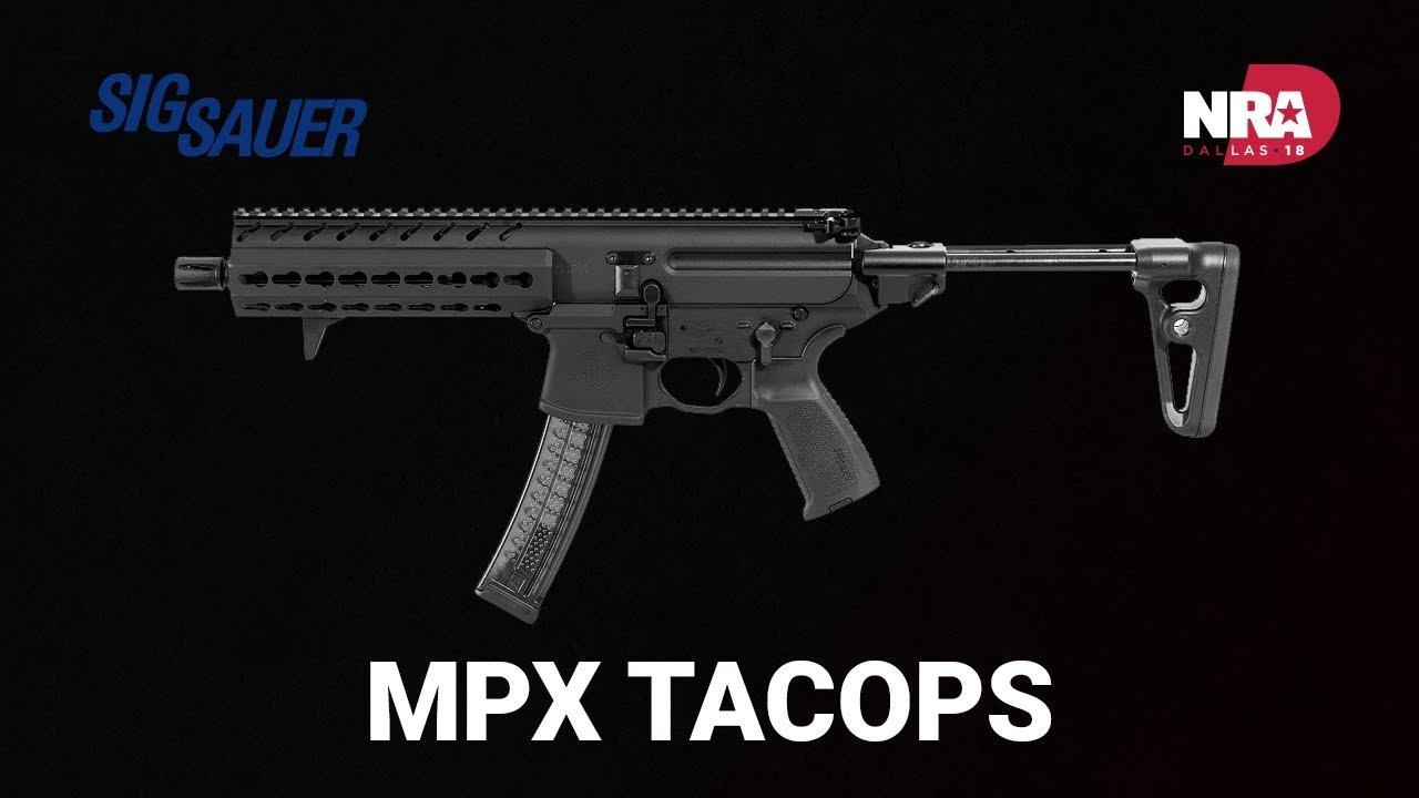 MPX TACOPS - Sig Sauer
