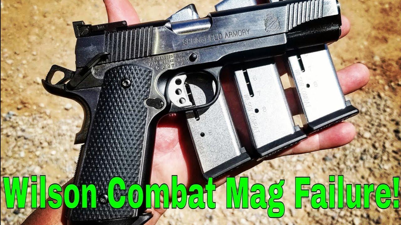 Wilson Combat 1911 Magazine Failure!