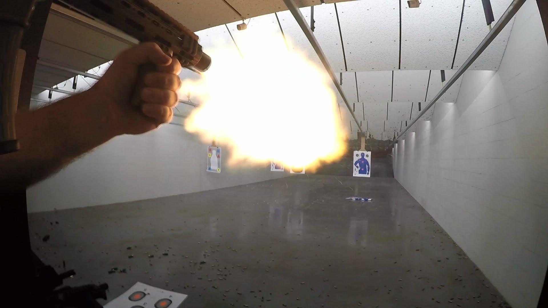 AR15 SBR Fireballs II