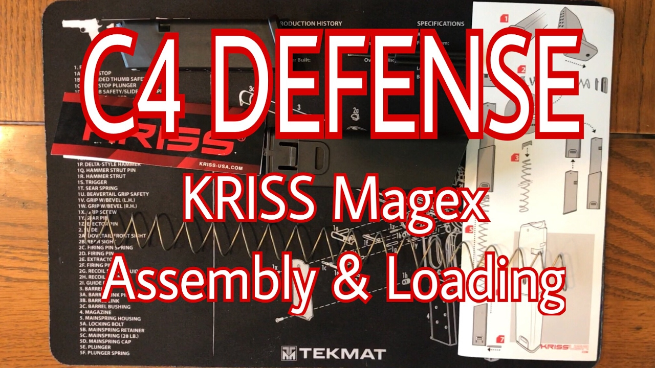 KRISS Magex 25+ rd Glock 21 Magazine Extension