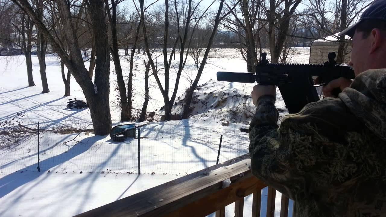 Suppressed Kriss vector test osprey 45