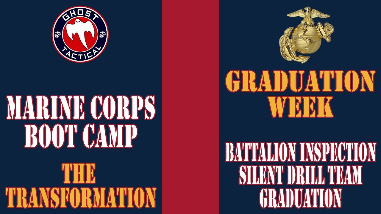 Marine Corps Boot Camp: Battalion Inspection , Silent Drill Team, and Graduation Ceremony