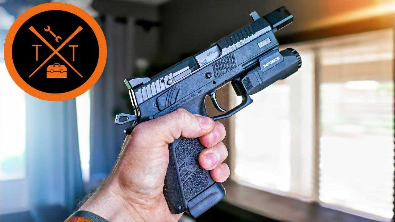 CZ P07 Tactical : New Upgrades! Space Force Blaster 2.0