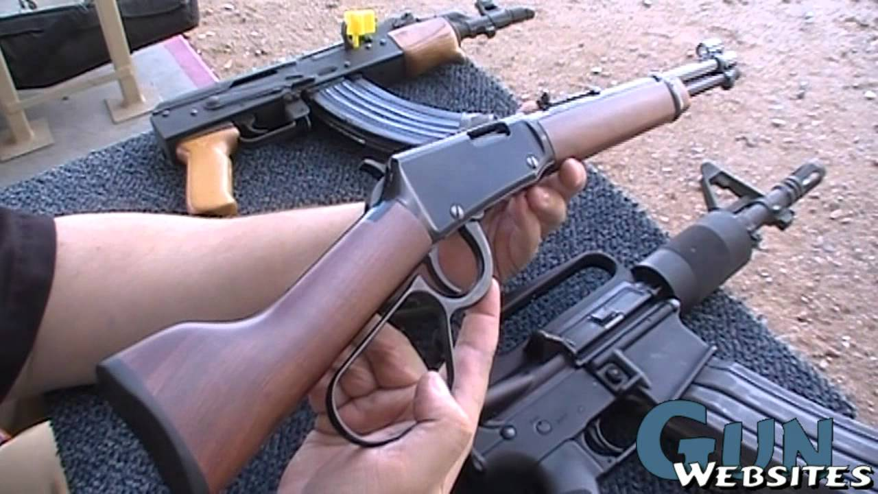 Mare's Leg, Lever Action Pistol: 4 of 4