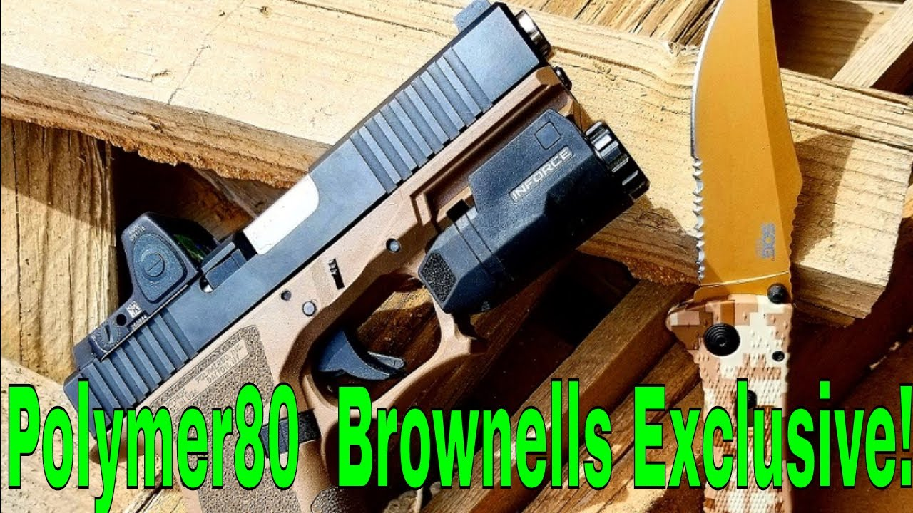 Polymer80 Brownells Exclusive Build!