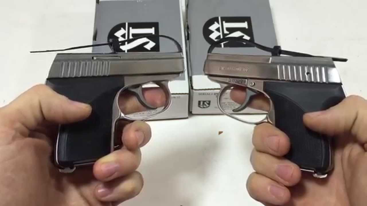 Seecamp 380 / 32 Pistol Comparison