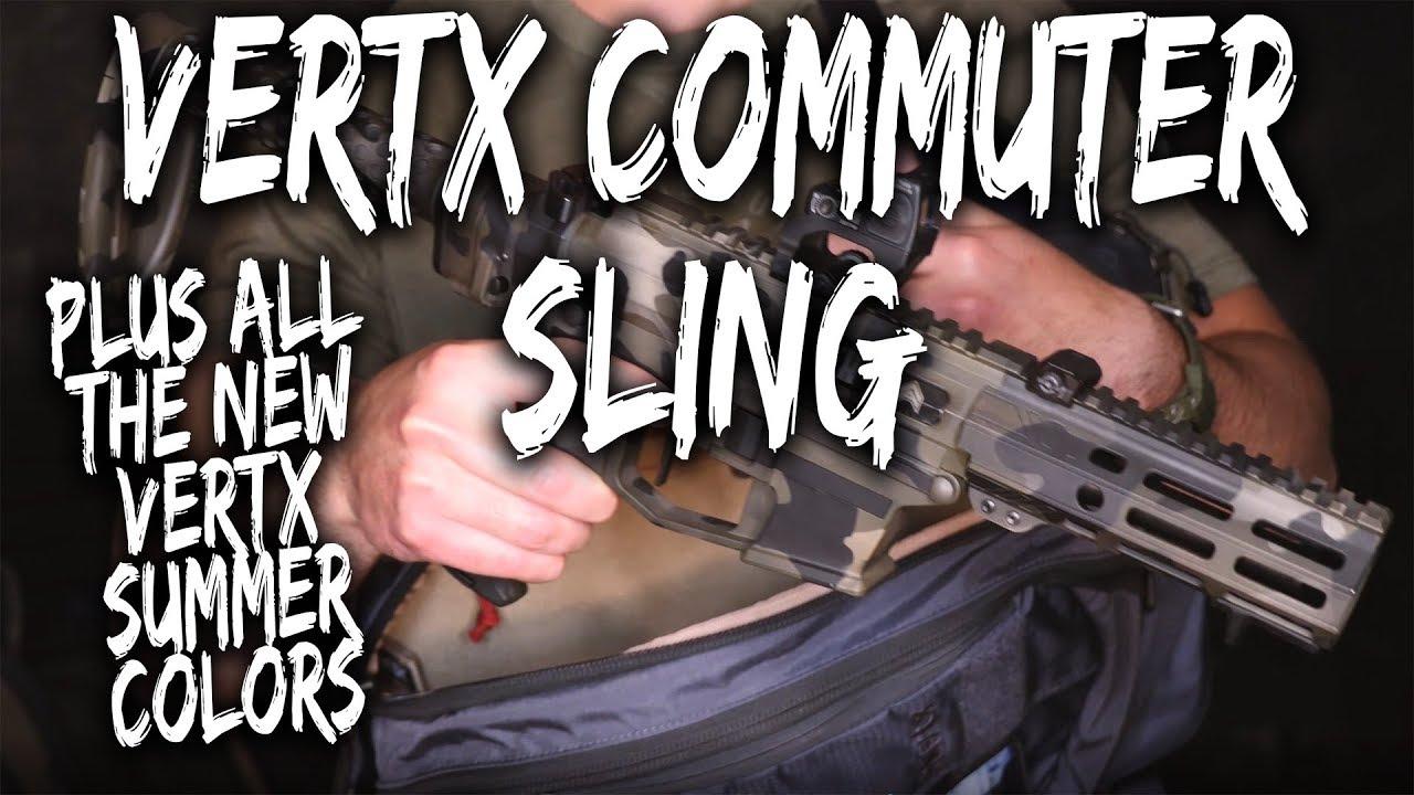 Vertx Commuter EDC Sling (GIVEAWAY) review + NEW Vertx Bag Colors
