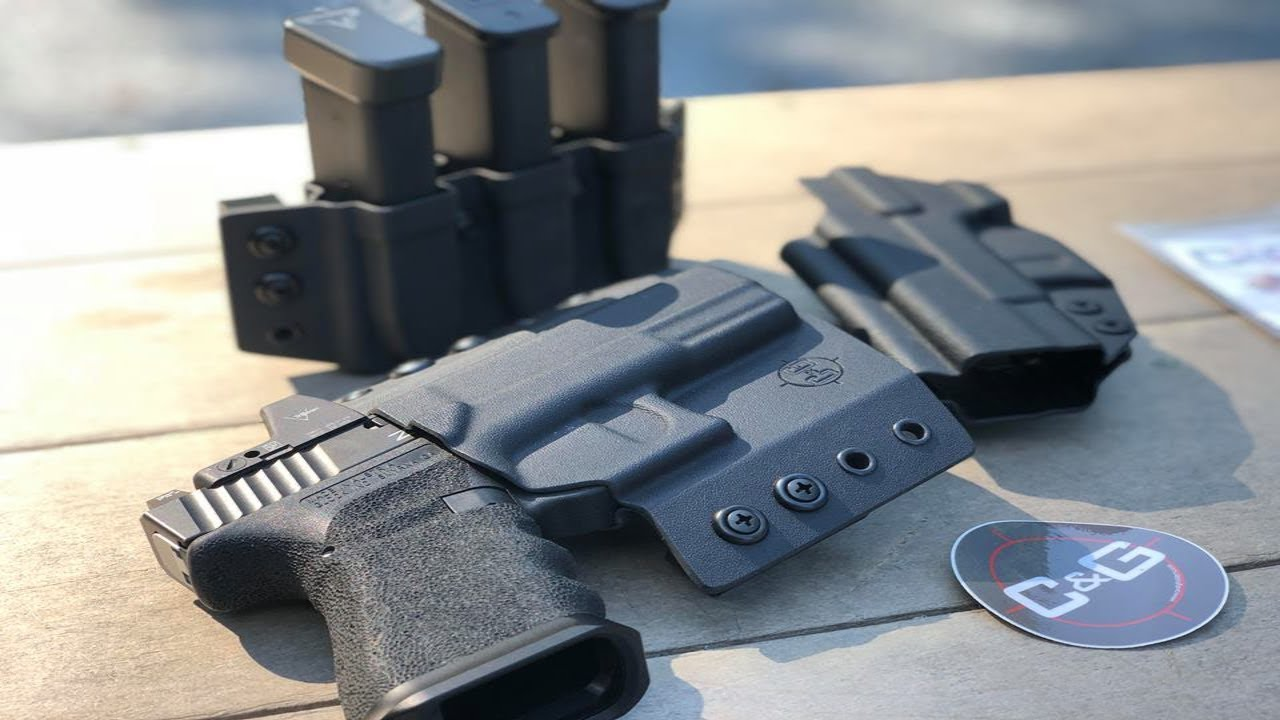 C&G Holsters Test and Evaluation