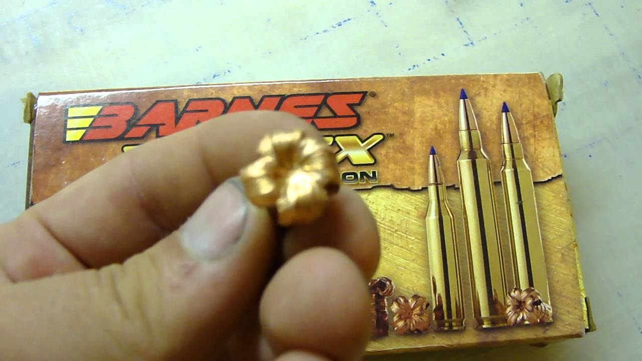 .308 Winchester Power Point/Power Max/Barnes TTSX Part 2 Bullet Expansion