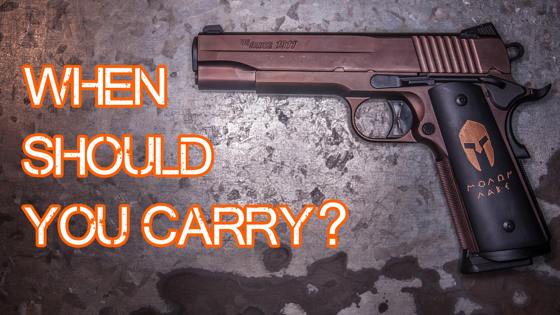 When Should You Carry a Gun? Safe Places? (Quickie)