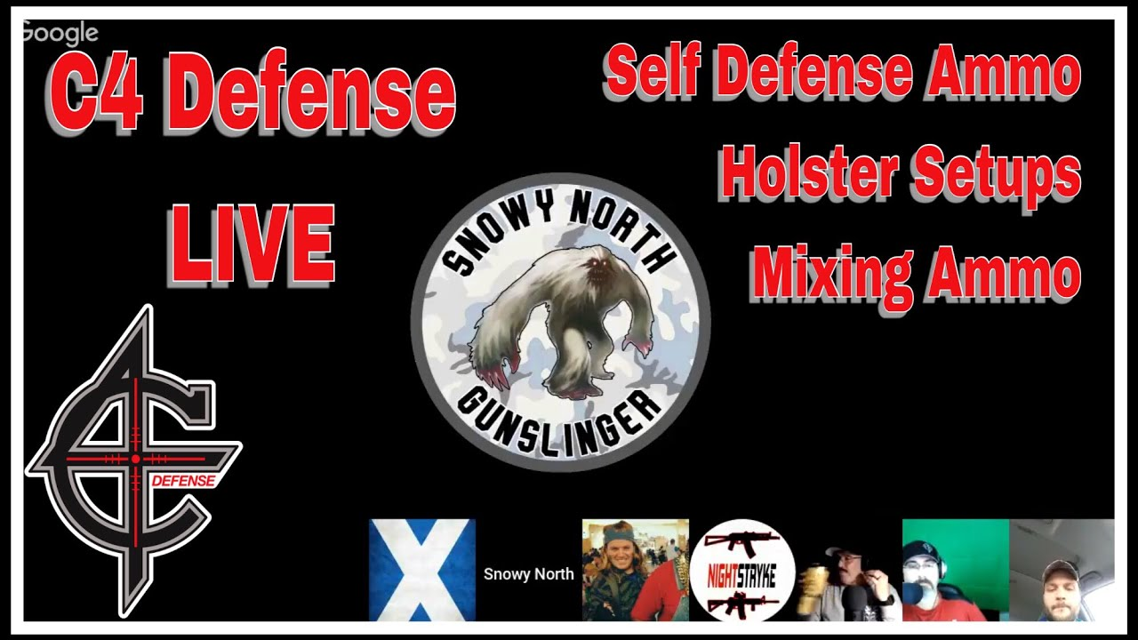 C4 Defense Live | Self Defense Ammo, Mixing Rounds, & Holsters