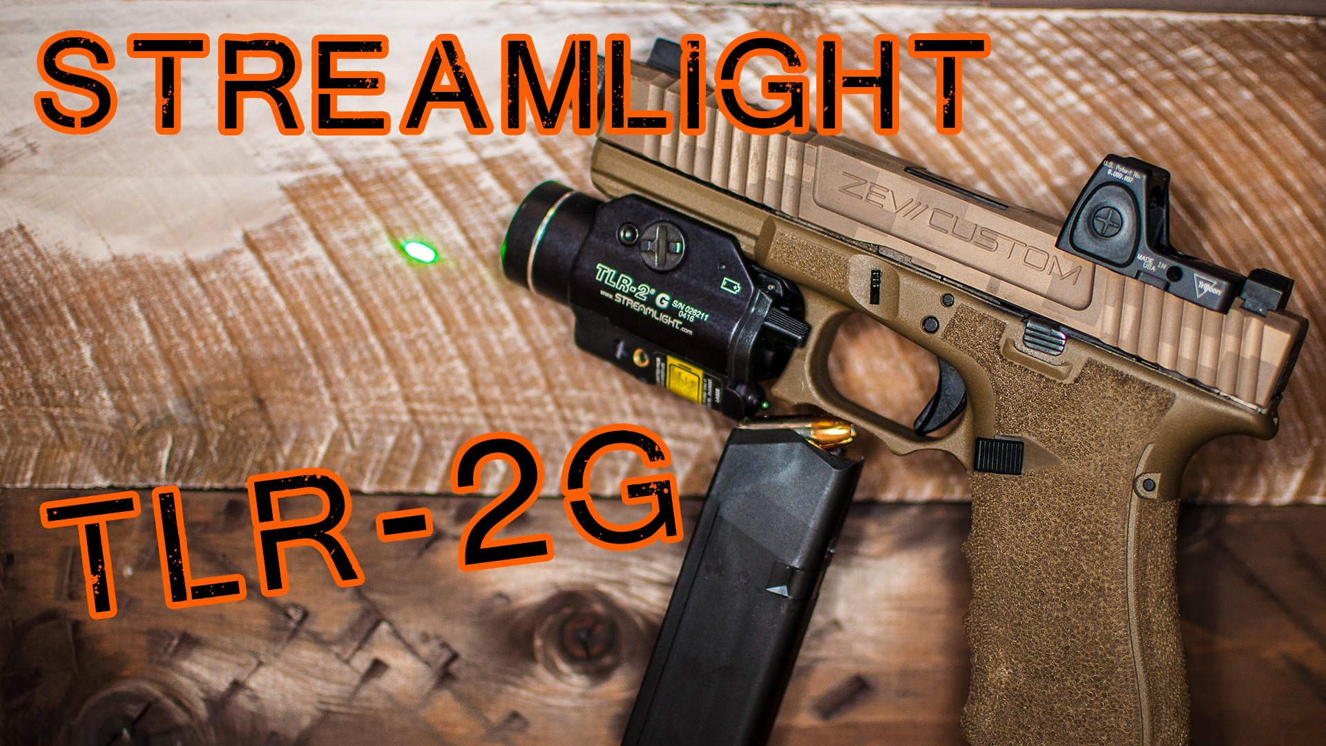 Streamlight TLR-2G Review - The Perfect Home Defense Weapon Light?