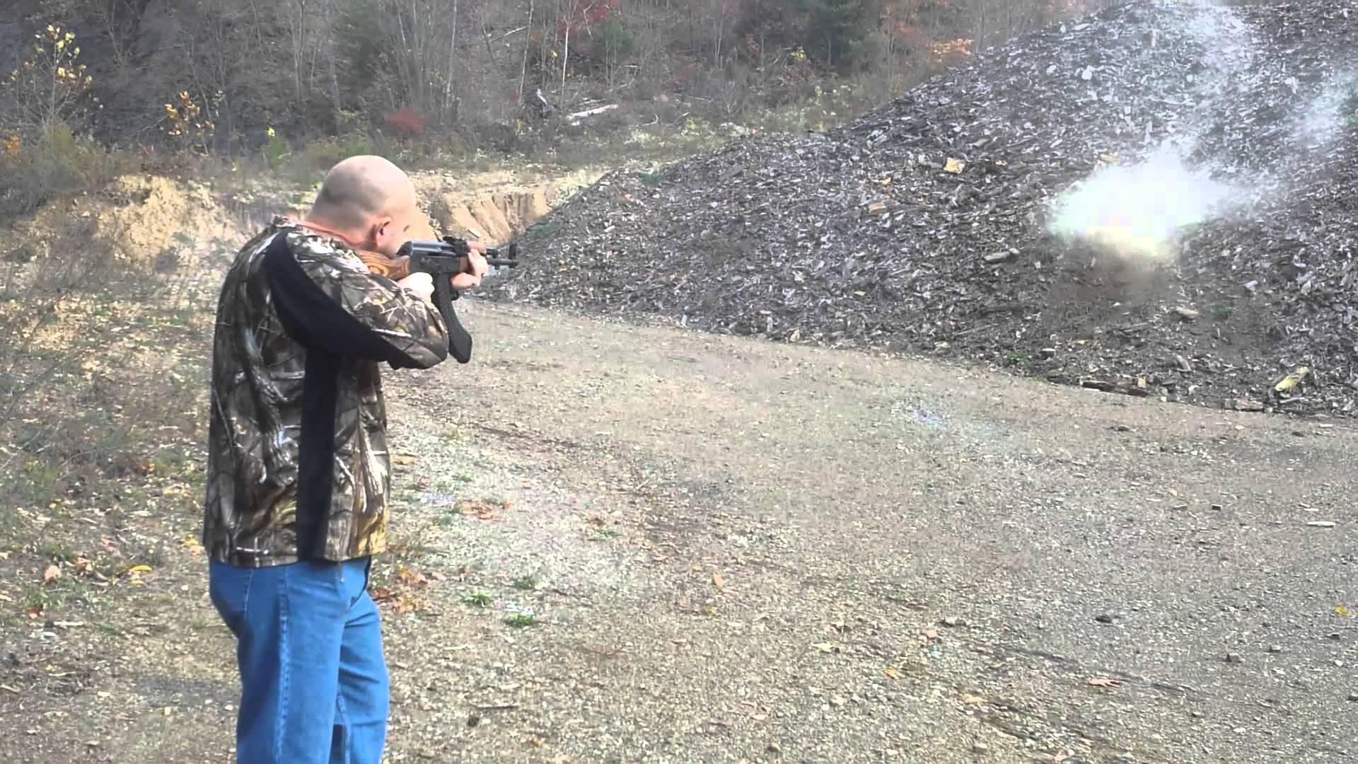 AK-47 42 Round Mag Dump 7.62 x 39MM