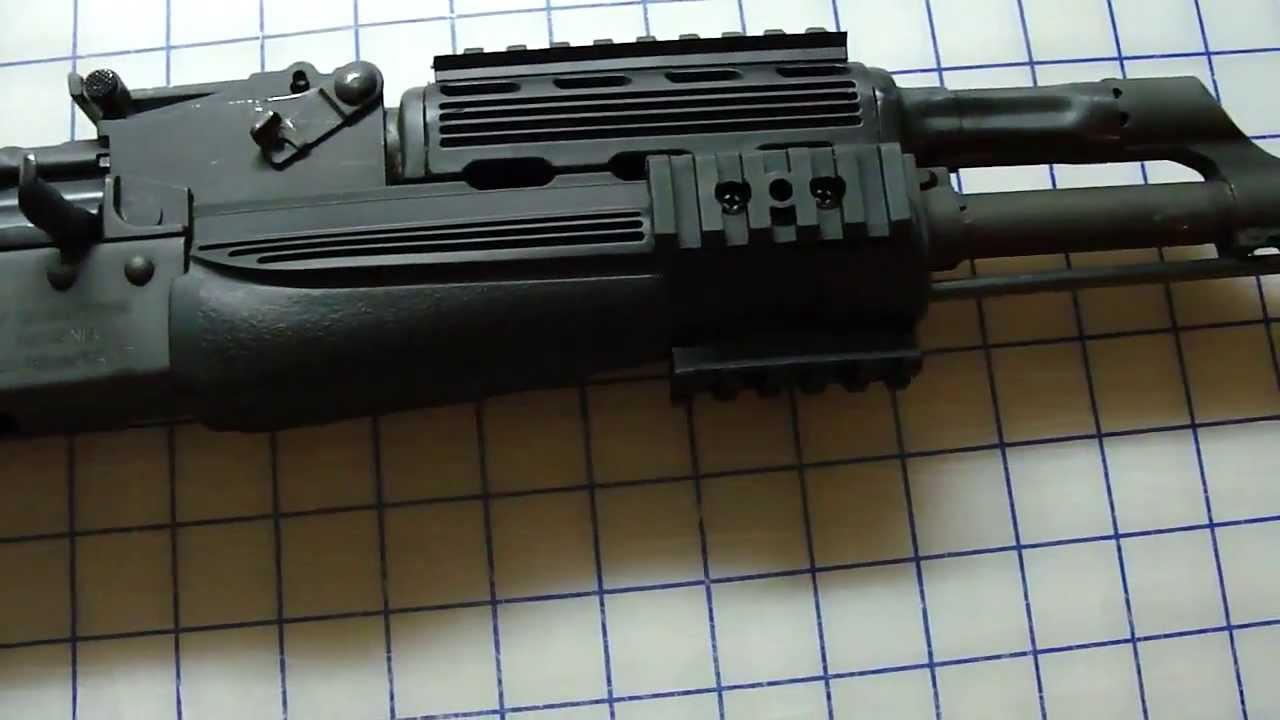 AK 47 ATI Strikeforce Stock Review on AKM wasr
