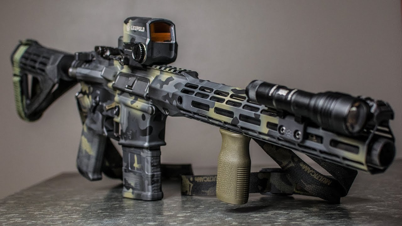 TRICKED OUT GUNS! Custom AR-15, Multicam Black - Everything you've always wanted (Ep 1)
