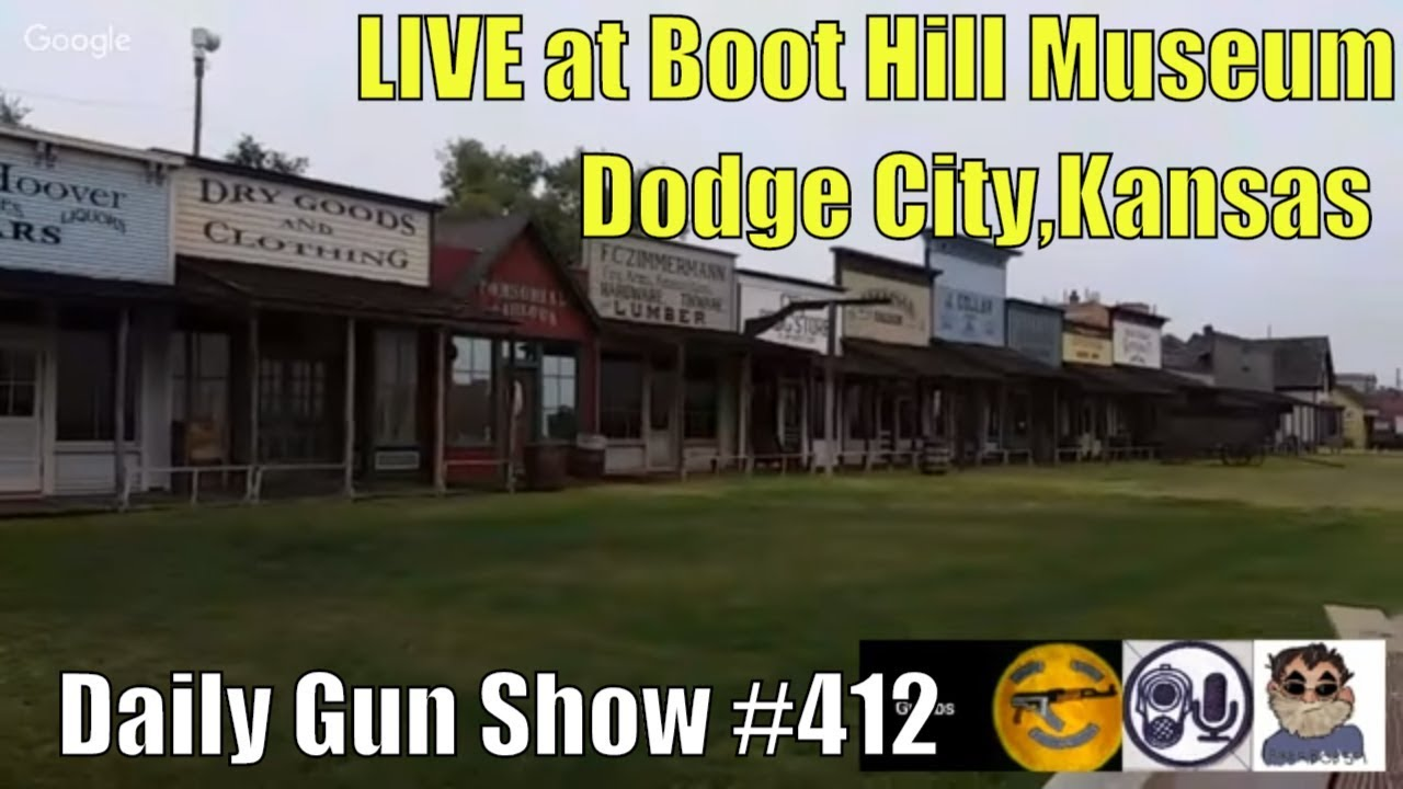 LIVE in Dodge City at Kansas Boot Hill Museum - Daily Gun Show #412